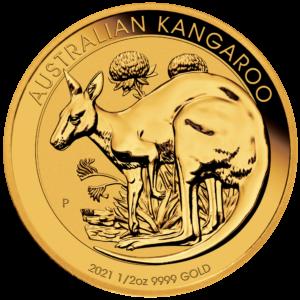 1/2 oz Australian Kangaroo goud (2021)