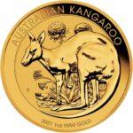 1 oz Australian Kangaroo goud (2021)