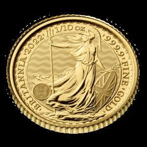 1/10 oz Britannia goud (2022)