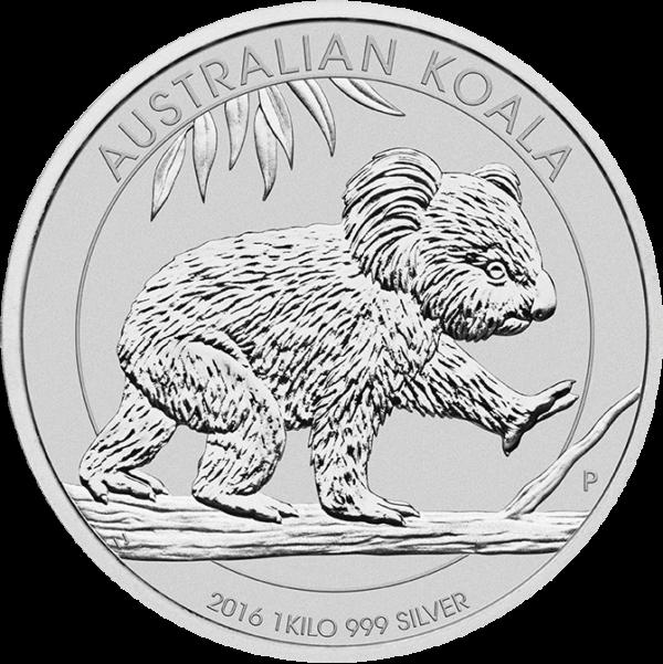 1 kg Australian Koala zilver (2016)