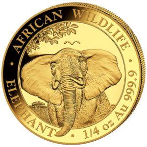 1/4 oz Somalia Elephant goud (2021)