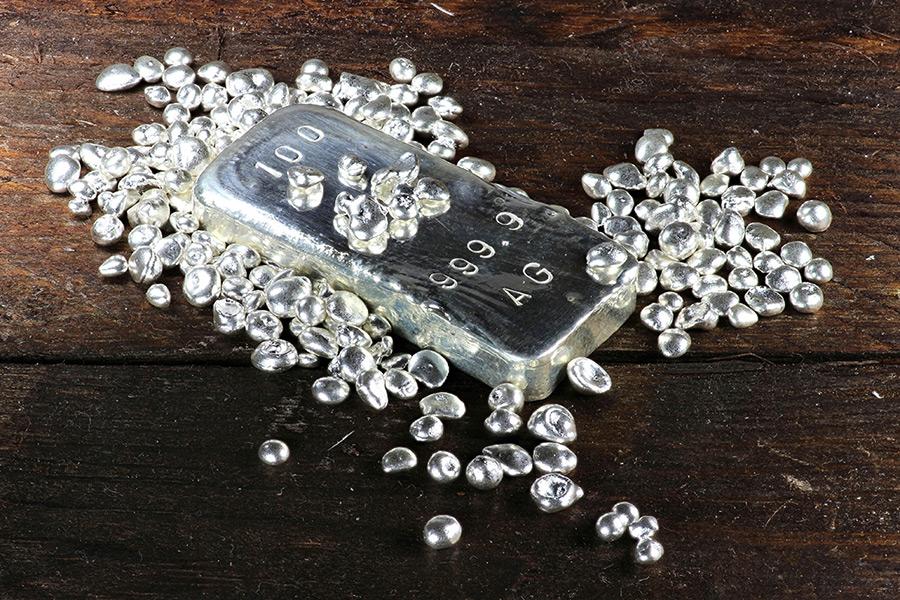 De zilver prijs toont veerkracht rond de $24 niveau