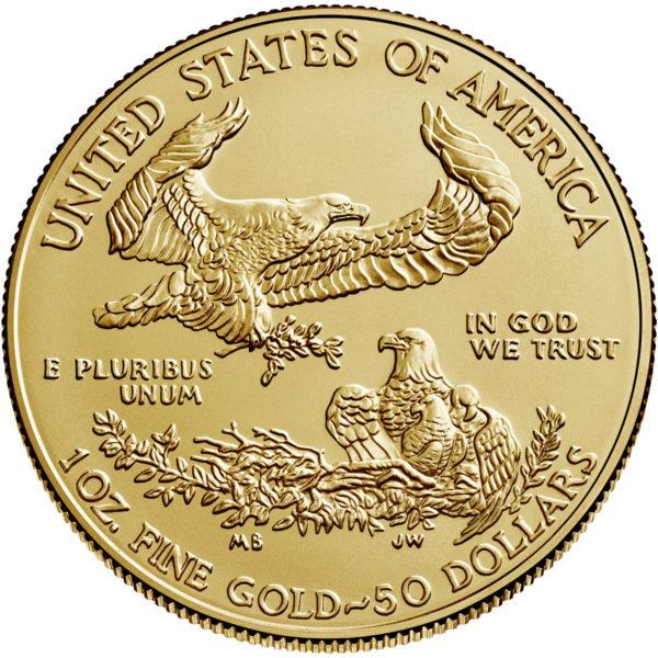 1 oz American Eagle goud (2021)
