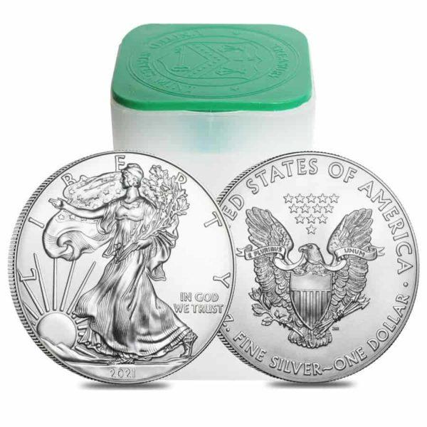 1 oz American Eagle zilver (2021)