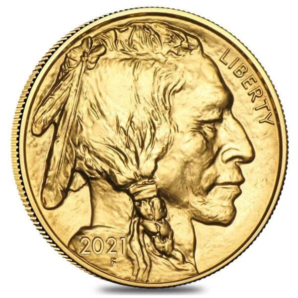 1 oz American Buffalo goud (2021)