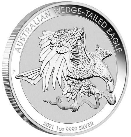 1 oz Australian Wedge Tailed Eagle zilver (2021)