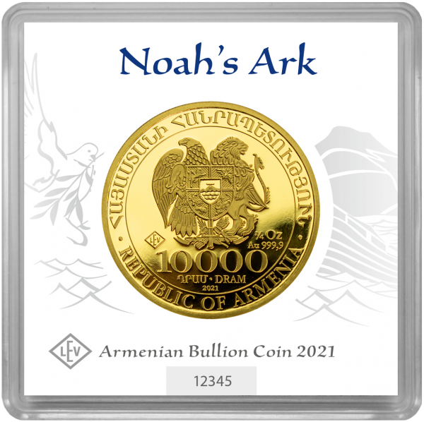 1/4 oz Noah's Ark goud (2021)