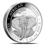 5 oz Somalia Elephant zilver (2021)