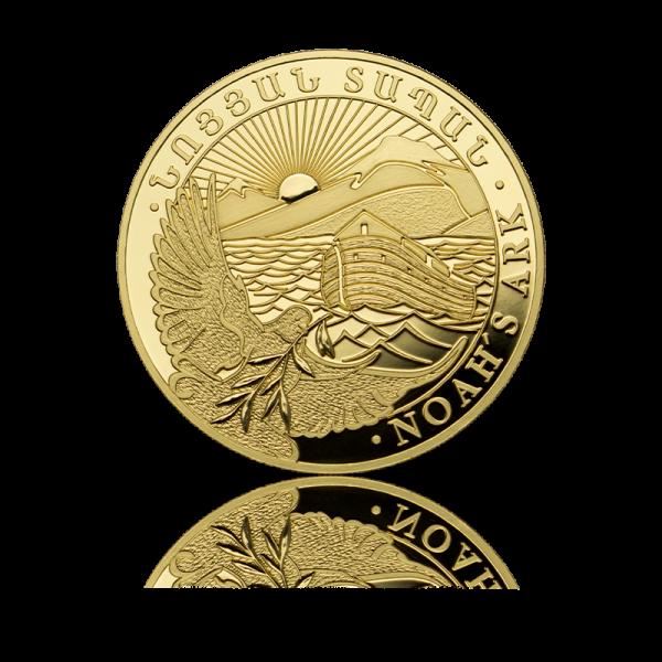 1/2 oz Noah's Ark goud (2021)