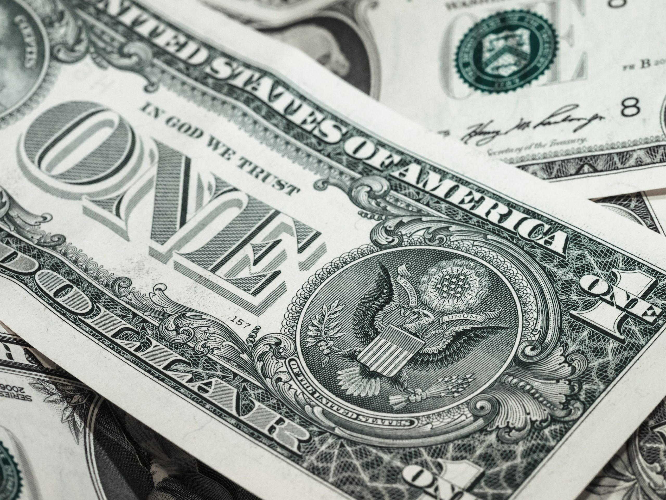 De Dollar zakt verder weg