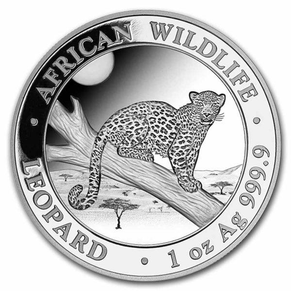1 oz Somalia Leopard zilver (2021)