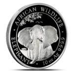 10 oz Somalia Elephant zilver (2021)
