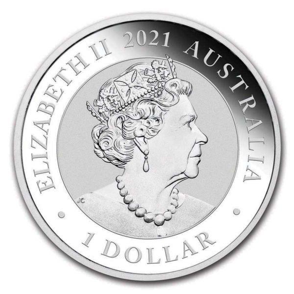 1 oz Australian Swan zilver (2021)