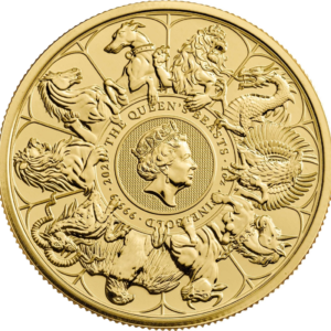1 oz Queens Beasts Collection goud (2021)