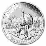 1 oz Australian Emu zilver (2021)