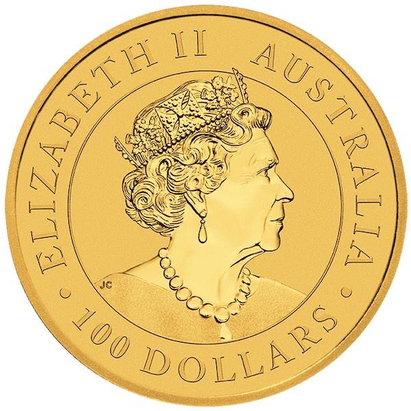 1 oz Australian Emu goud (2021)