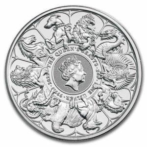 2 oz Queens Beasts Collection zilver (2021)